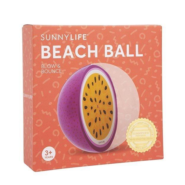 Sunnylife aufblasbarer Wasserball Passionsfrucht
