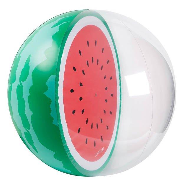 Sunnylife Ballon de plage Pastèque XL