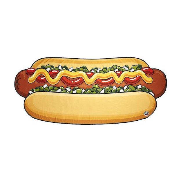 Strandtuch Hot Dog