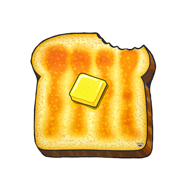 Serviette de plage Toast