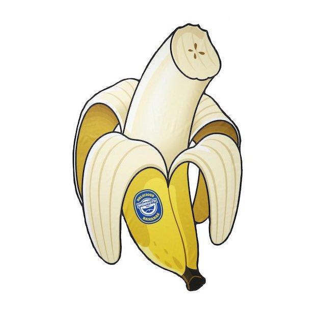 Strandtuch Banane