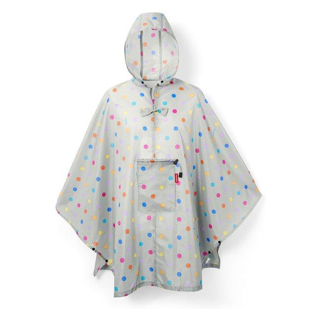 Reisenthel Poncho de pluie Stonegrey dots