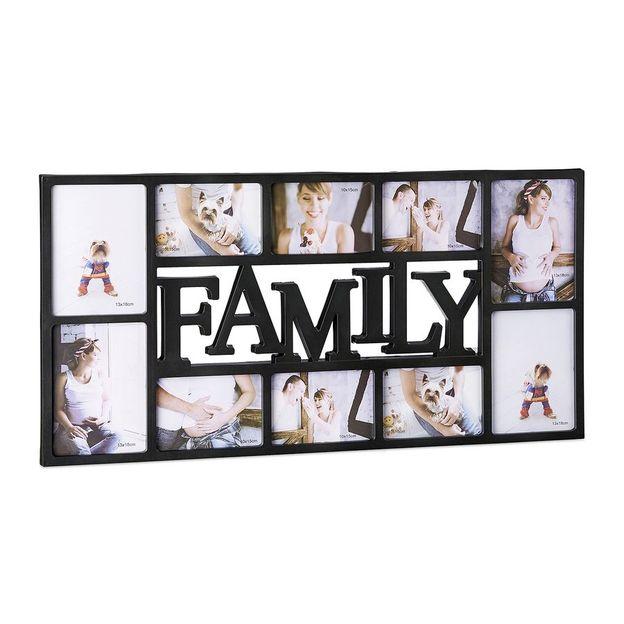 Cadre photo Family XL - noir