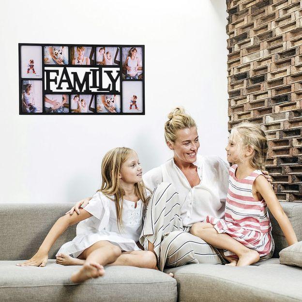 Fotorahmen Family XL schwarz