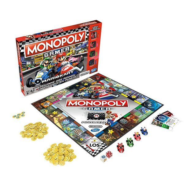 Nintendo Mario Kart Monopoly
