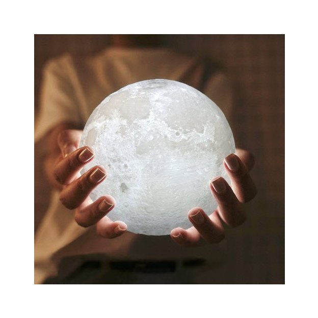 Lampe Lune 3D LED Ø 15 cm
