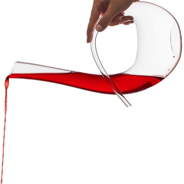 Wein Dekanter - Curved Design