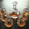 "Whisky Set 7tlg. luxury ""Bohemian Design"""
