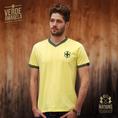 Vintage Fussball Trikot Herren Brasilien S