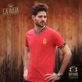 Vintage Fussball Trikot Herren Spanien S
