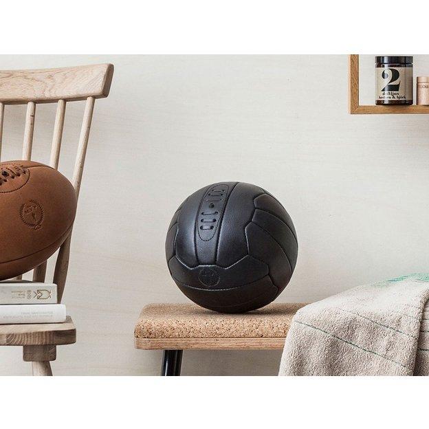Vintage Fussball Executive 18 aus Leder