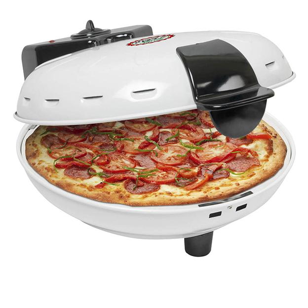 Pizzaofen mit Pizzastein, 1000W