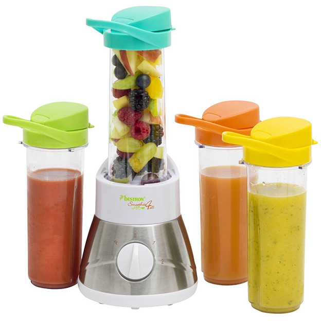Smoothie Maker avec 4 shakers