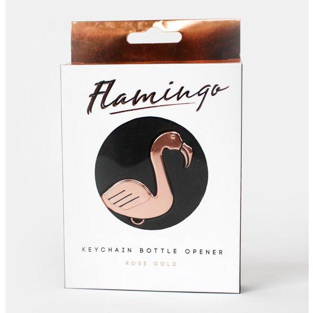 Flamingo Schlüsselanhänger & Flaschenöffner