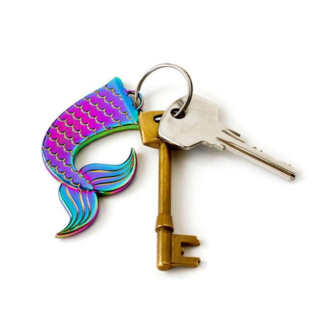 Porte-clés et décapsuleur Sirène