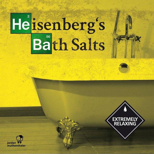 Sel de bain Heisenberg Breaking Bad, 250 g