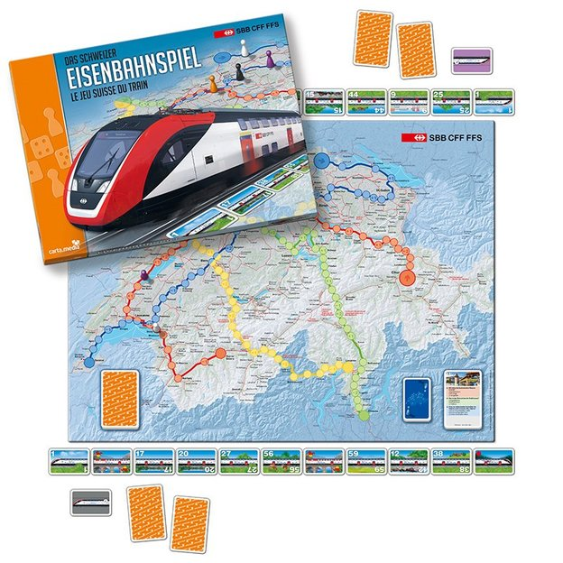 Das Schweizer Eisenbahnspiel