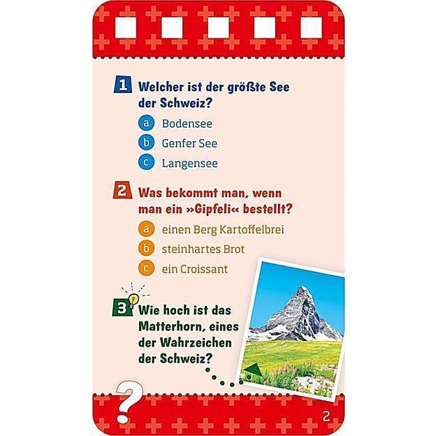 Was ist was - Quiz Schweiz