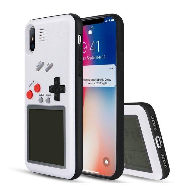 Hardcase Hülle mit integrierten Retro-Spielen iPhone X