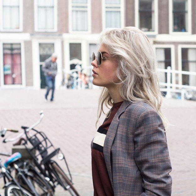 Ikki Sonnenbrille Dufour Gradient grey