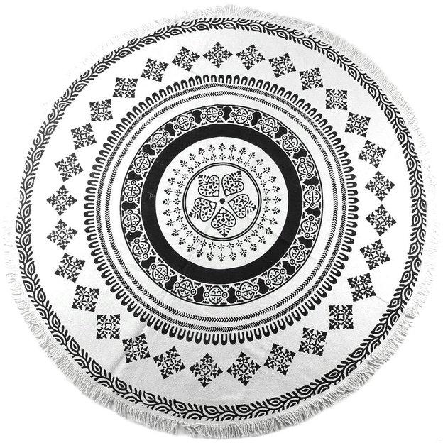 Tapis rond Mandala 180 cm