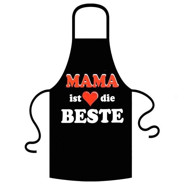 Mama ist die Beste Schürze