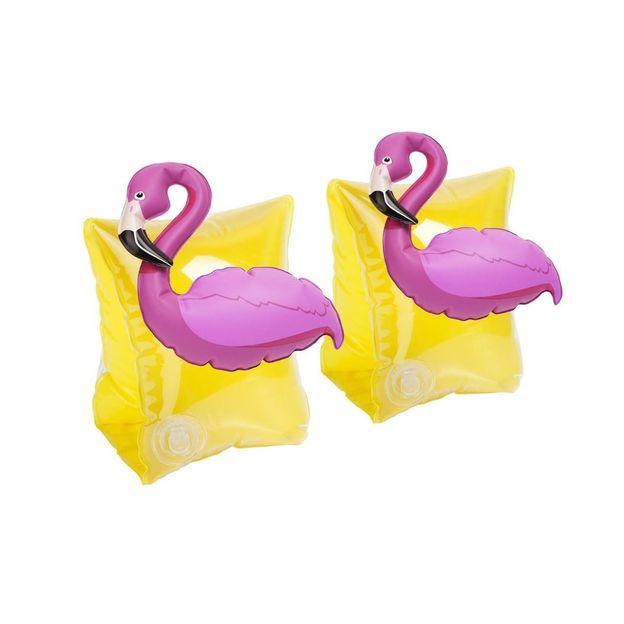 Sunnylife Brassards de piscine Flamant rose