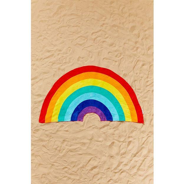 Sunnylife Strandtuch Regenbogen