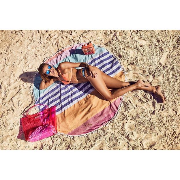 Sunnylife Strandtuch Catalina rund