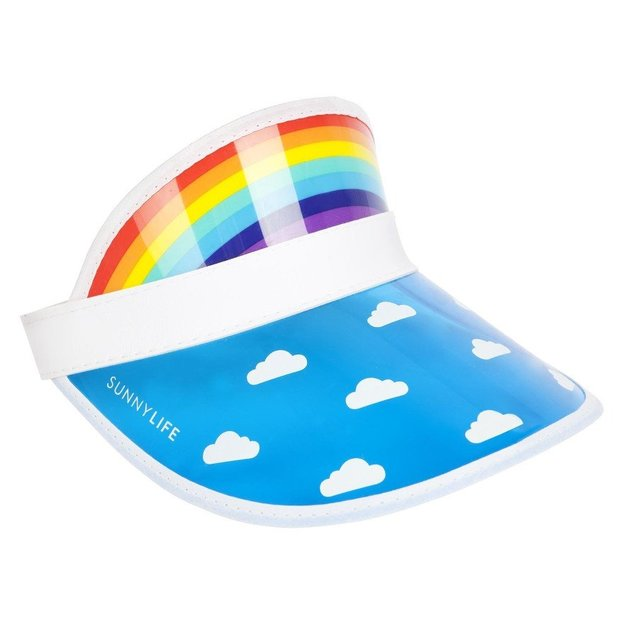 Sunnylife Retro Mützenschirm Regenbogen