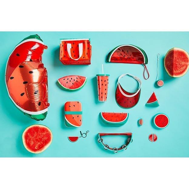 Sunnylife Retro Mützenschirm Wassermelone