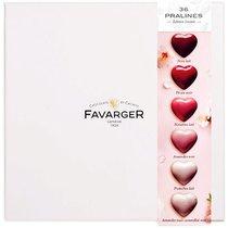 Boîte de chocolats Cœurs pralinés de Favarger