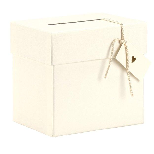 Hochzeit-Sammelbox Weiss