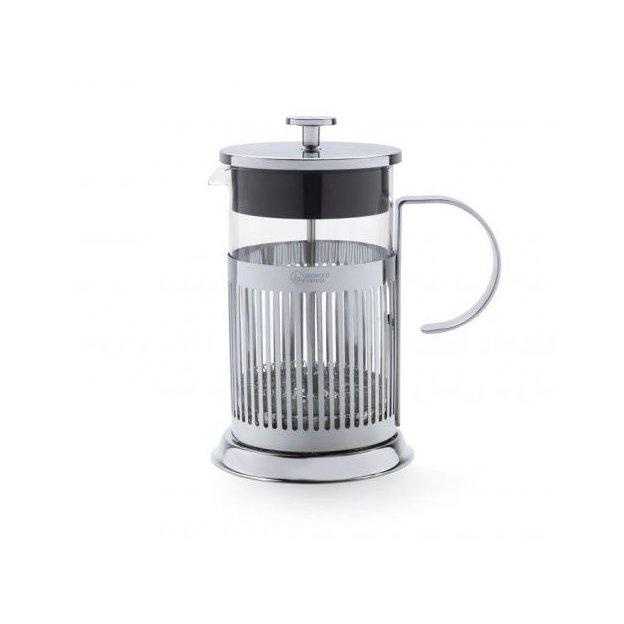 French Press Kaffebereiter, Chrom 800ml