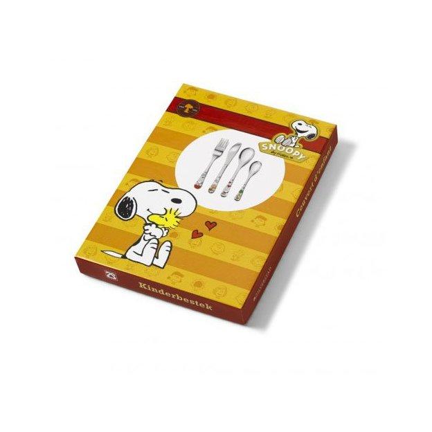 Couverts pour enfants Snoopy multicolore, 4 pièces