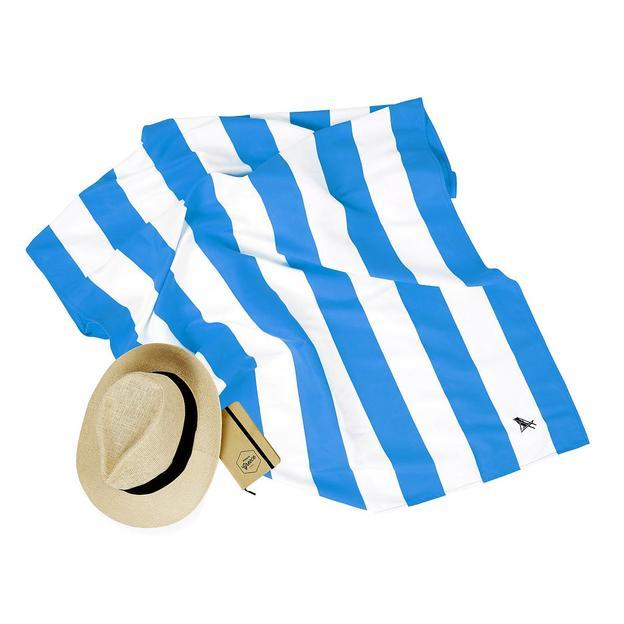 Strandtuch Bondi Blue, schnelltrocknend, 200x90 cm