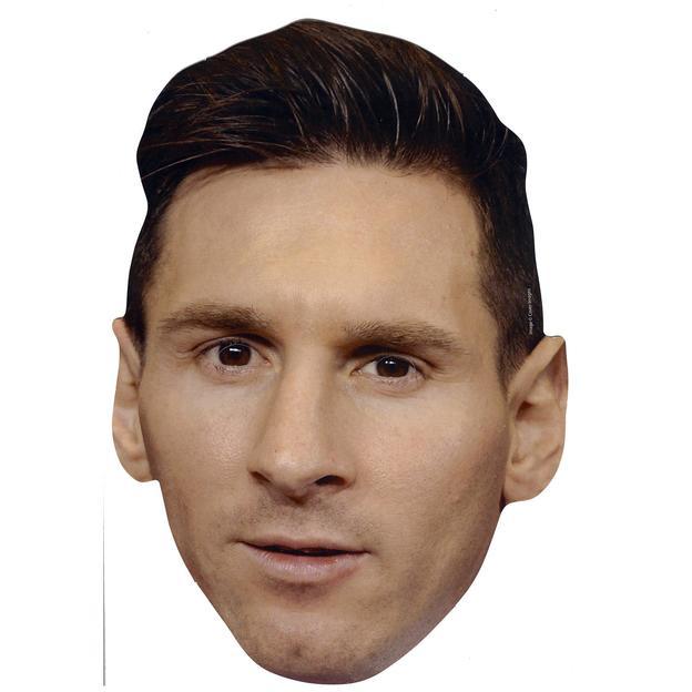 Lionel Messi Party-Maske