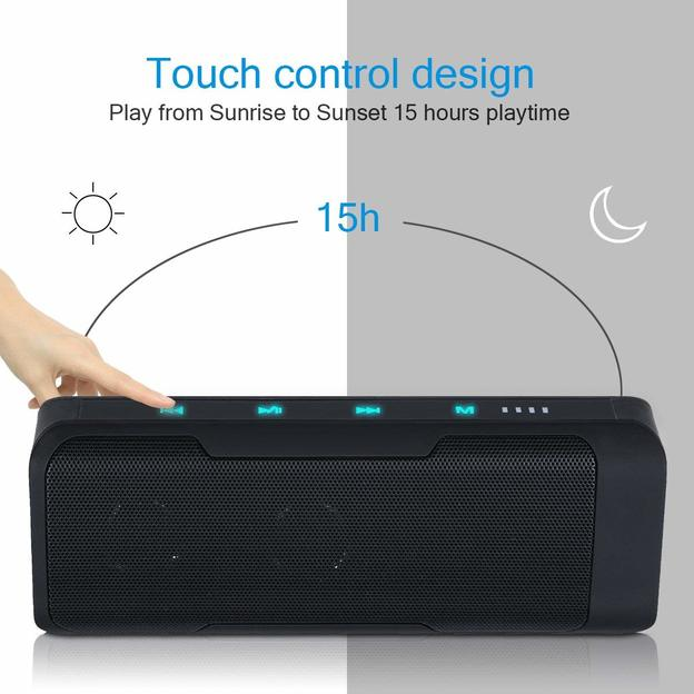 3 in 1 Bluetooth Lautsprecher inkl. Radio und Powerbank