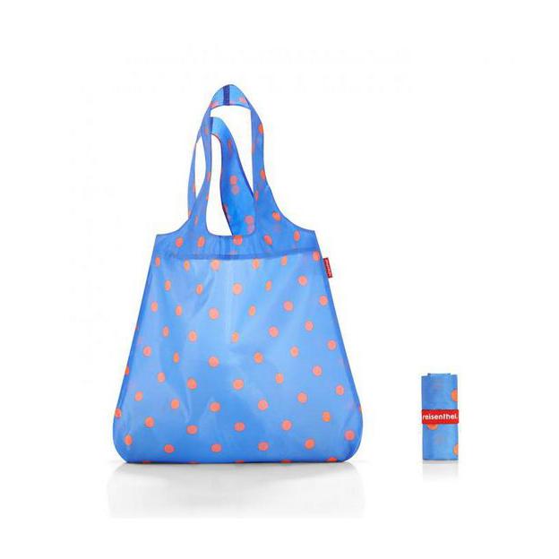 Reisenthel Einkaufstasche azure dots