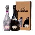 Geschenkset Sansibar San Simone Prosecco DOC & Rosé Spumante