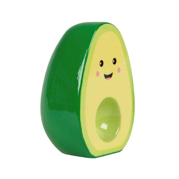 Spardose Avocado