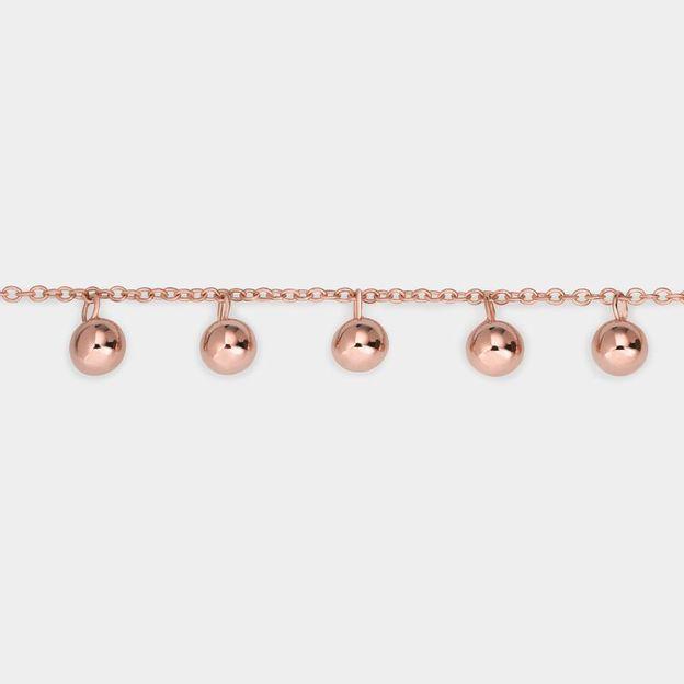 Cluse Armband Dots Rosé Gold
