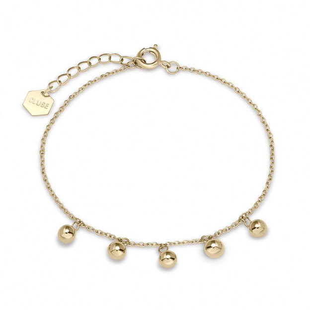 Cluse Armband Dots Gold