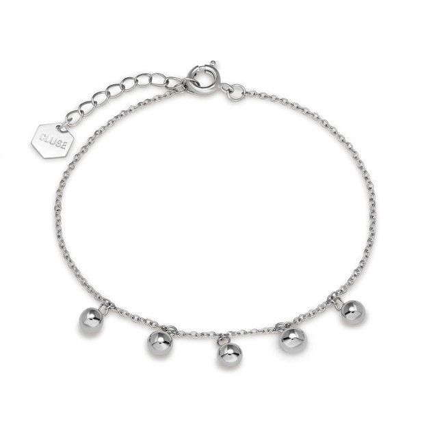 Cluse Armband Dots Silber
