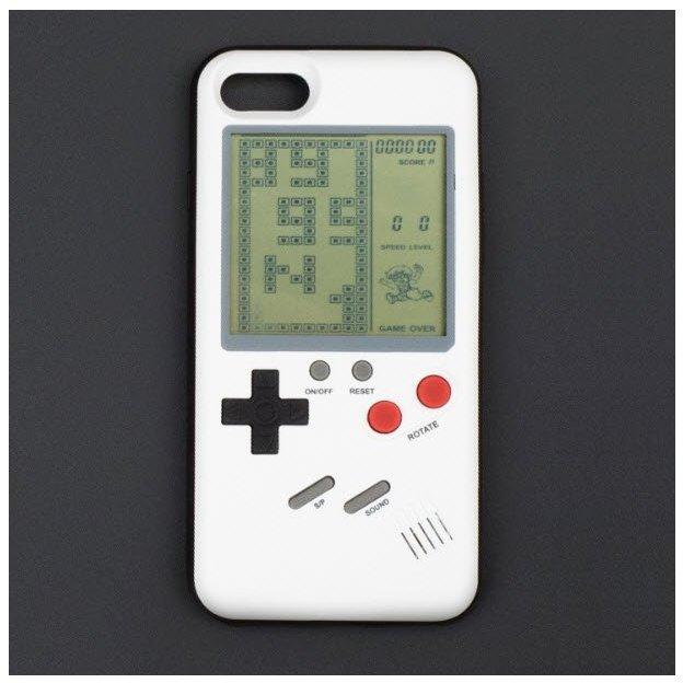 iPhone Hardcase Hülle mit integrierten Retro-Spielen