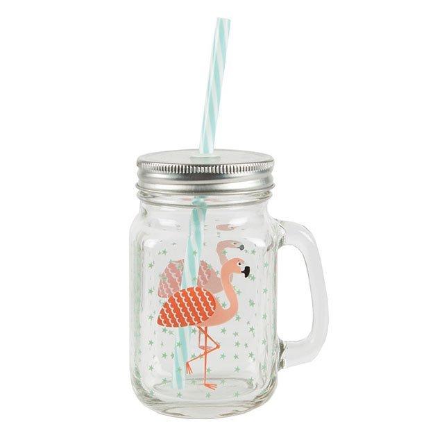 Tropical Flamingo Trinkbehälter