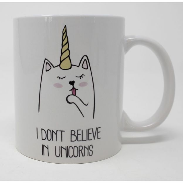 Catcorn Tasse I don't believe in Unicorns