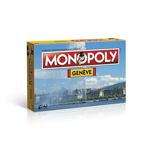 Monopoly Städte-Edition Genève