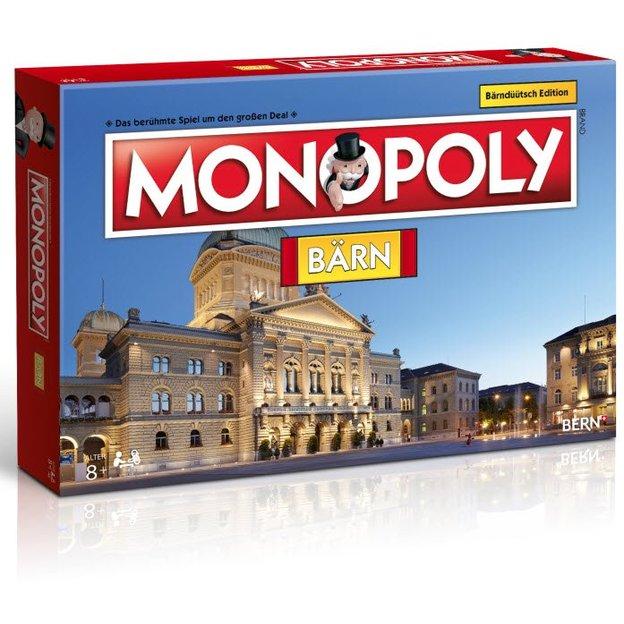Monopoly Städte-Edition Bärn Dialektversion