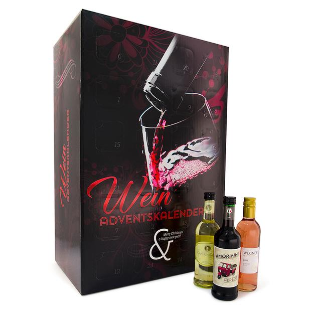 Calendrier de l'Avent, vins